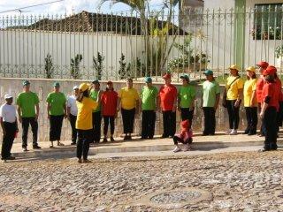 Straatevangelisatie in Itapoa