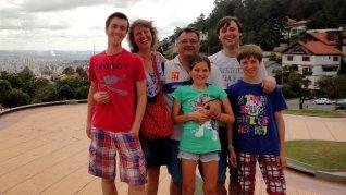 Familie Fokkema in Brazilië