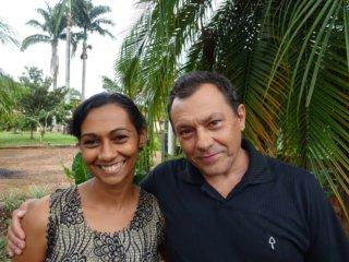 Voorgangersechtpaar Nilcélia en Vicente