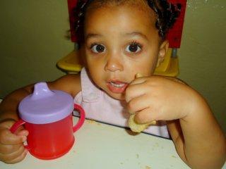 Kleuter in kindercentrum