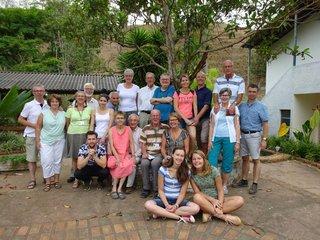 De Nederlandse groep reizigers