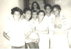 Mateus (links) in het kindercentrum