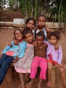 Kinderen uit het kinderdagverblijf